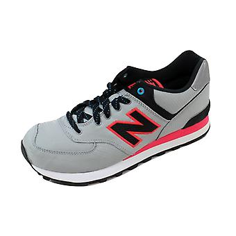 New Balance 574 Windbreaker Grey/Black-Pink ML574WPG