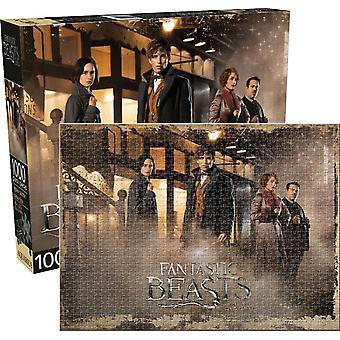 Animales fantásticos (J.k. Rowling) 1000 Piece Jigsaw Puzzle 690 X 510 Mm
