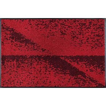 lavado + secado piso lavable mate rojo sombra por Daniska