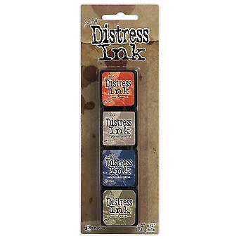 Distress Mini inkt Pads 4/Pkg-Kit 5