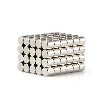 Neodymium magneet 10 x 10 mm schijf N35 - 100 stuks