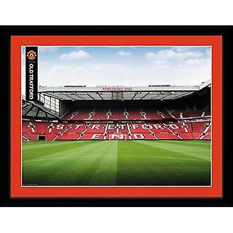 Manchester United Picture Stretford End 16 x 12