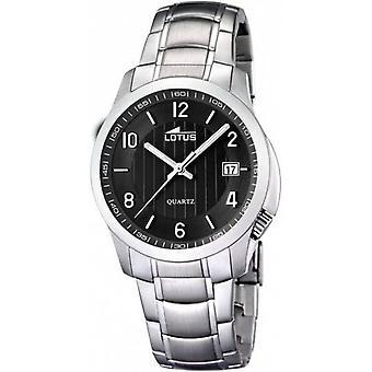 LOTUS - clásico de banda de acero para hombre/señoras reloj - 15760/4 - - clásico