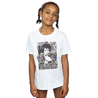 Jimi Hendrix Girls Vogue Floral T-Shirt
