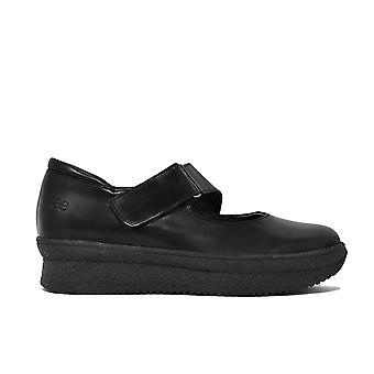 Liberitae Zapatos De Cordones Y Bluchers Zapato Confort En Piel Negro 21803310-01
