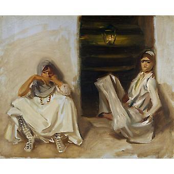 Две арабские женщины, Джон Сингер Сарджент, 64,2 x 53 см