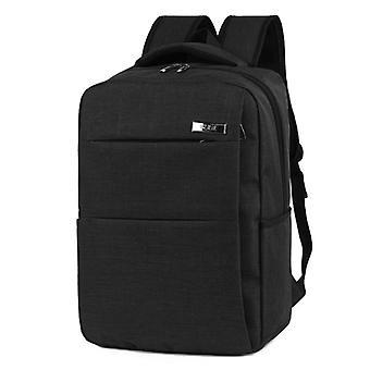 Stylowy i przestronny plecak czarny