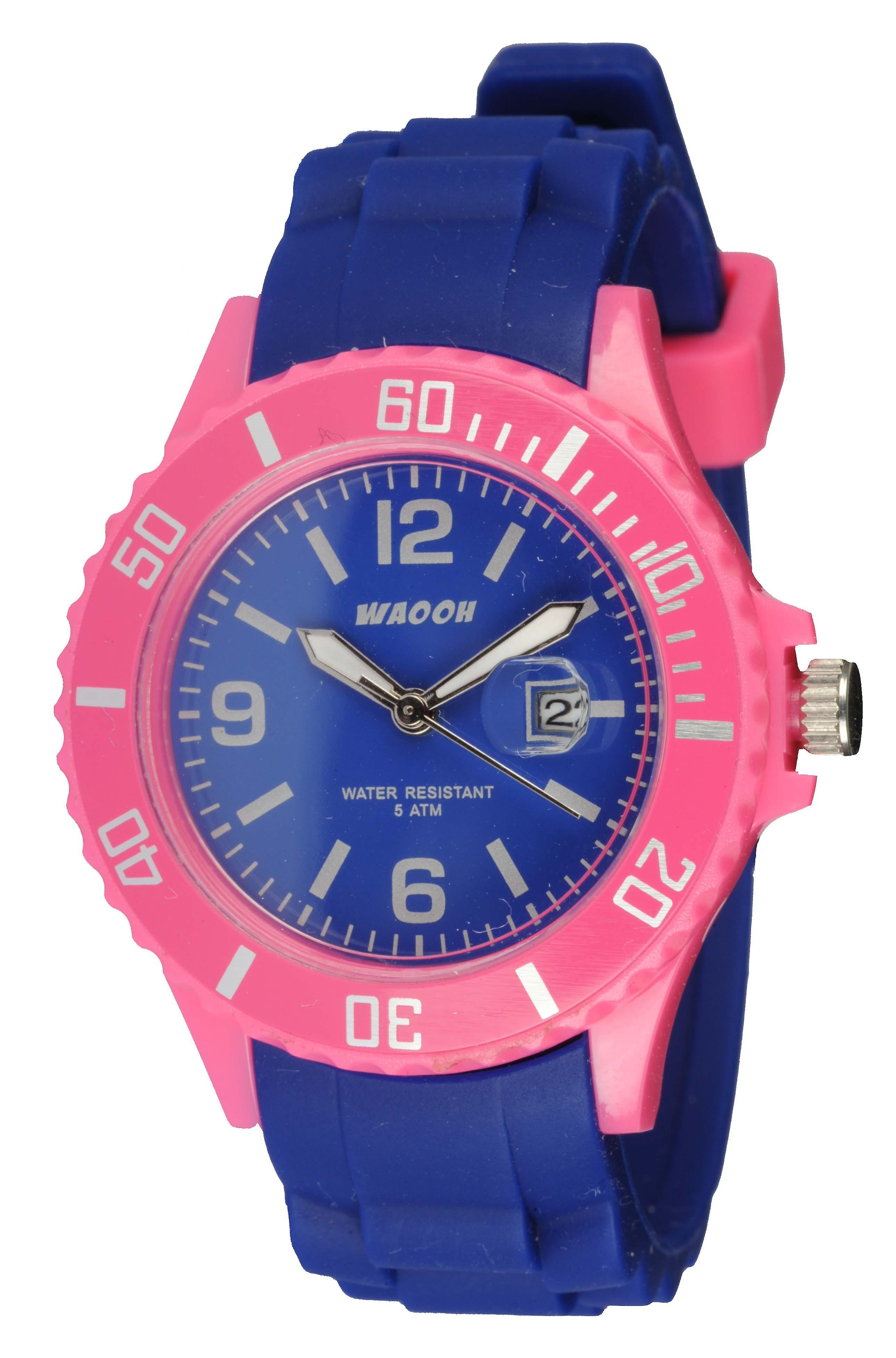 Waooh - Monaco38 Watch - Two Tone Pink &