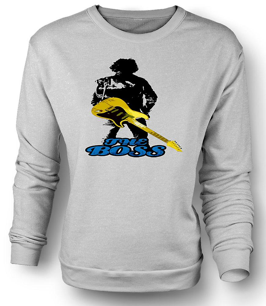 Mens Sweatshirt Bruce Springsteen - le Boss