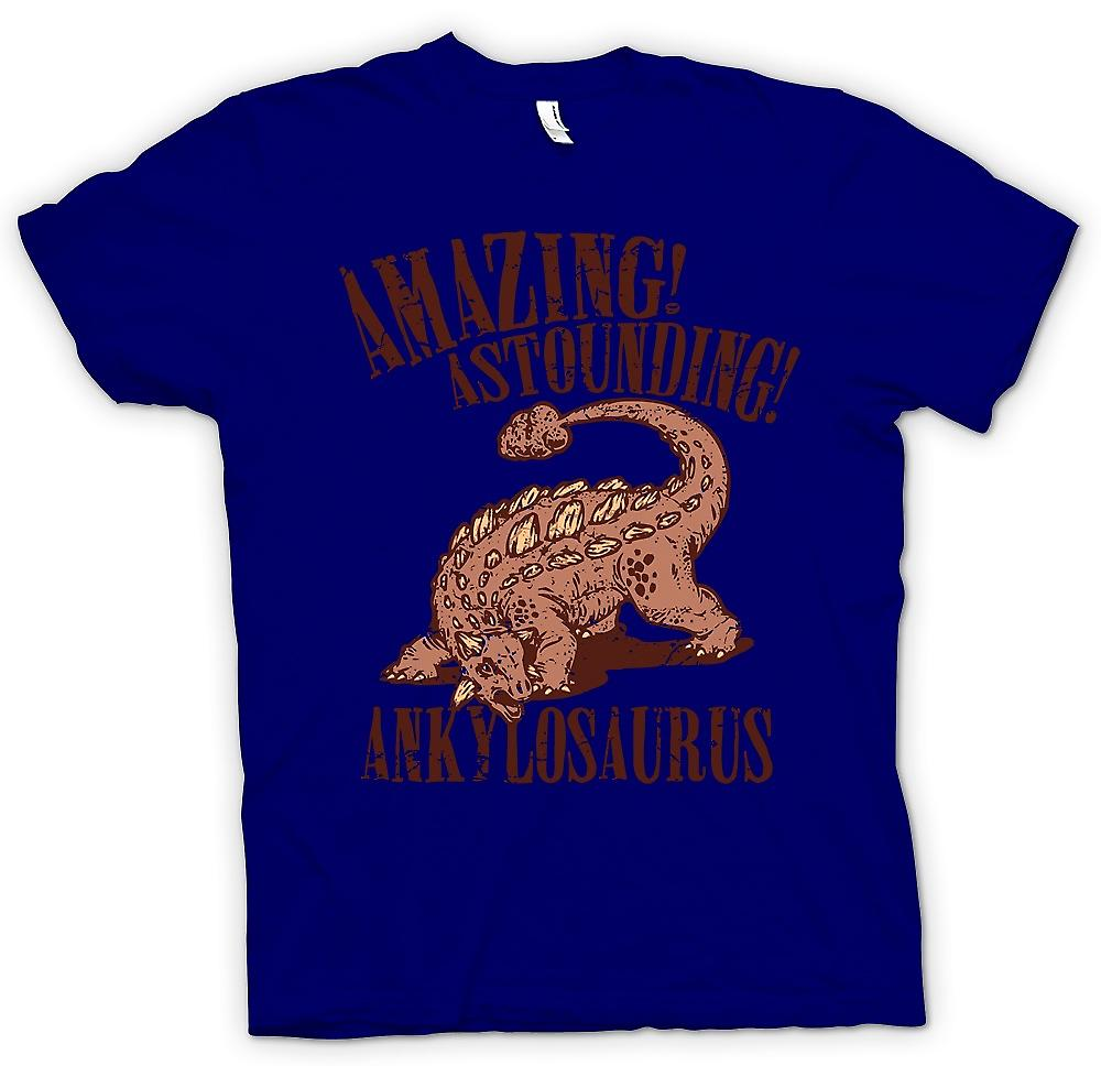 Mens t-shirt - incredibile stupefacente Ankylosaurus - Cool dinosauro