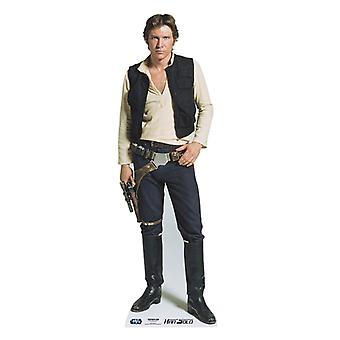 Han Solo - Star Wars Lifesize Cardboard Cutout / Standee (Harrison Ford)