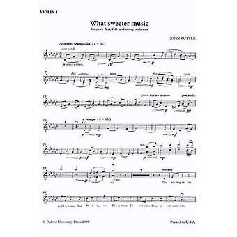 Qué música más dulce: violín 1