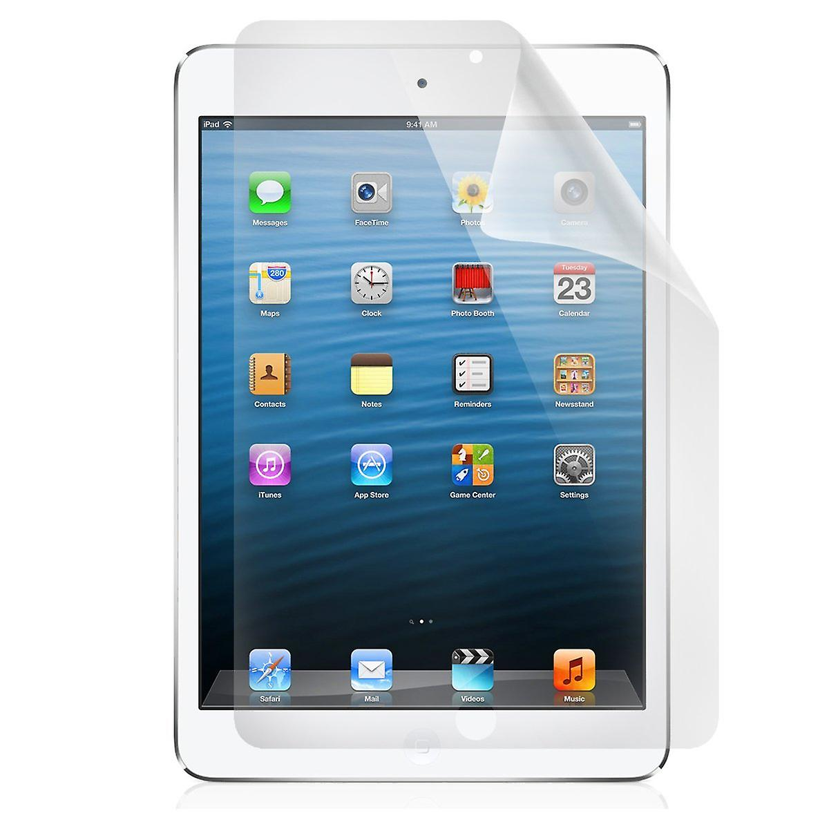 6 X IPAD Mini Transparent Screen Protector / Film / Folien (3 Layer Technology) & Mikrofasertuch