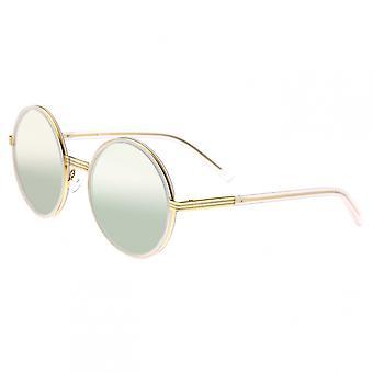 Bertha Riley Polarized Sunglasses - Gold/Gold-Green