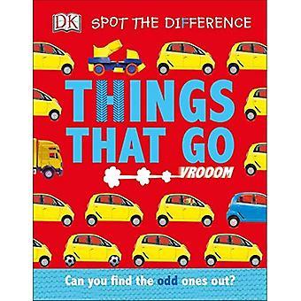 Spot forskellen: ting at gå (Spot forskellen) [Board bog]