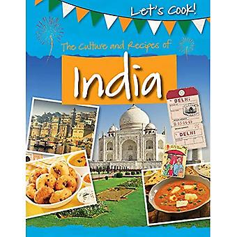 The Culture and Recipes of� India (Let's Cook!)
