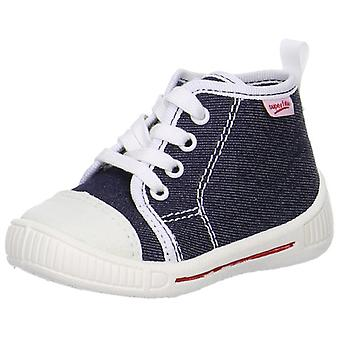 Superfit Boys Bully 8-248-81 Canvas Boots Navy