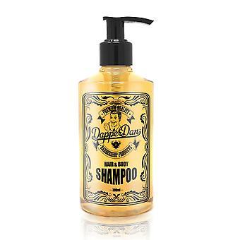 Dapper Dan cabello & cuerpo champú 300 ml
