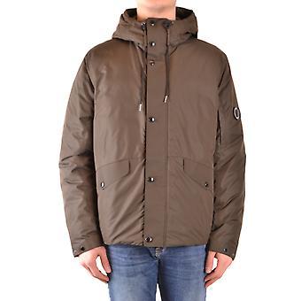 C.p. Company Brown Nylon Outerwear Jacket