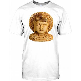 Sleeping Buddha Statue - Serenity Kids T Shirt