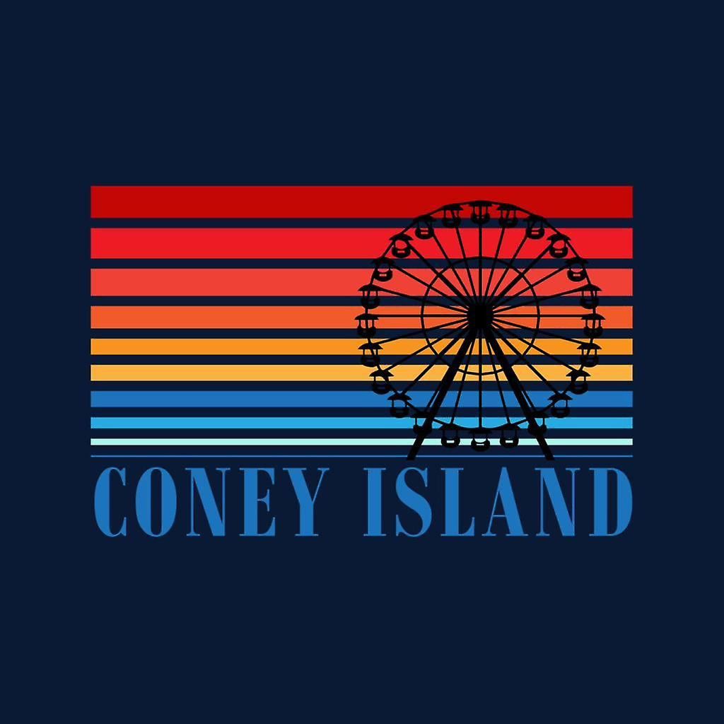 Coney Island Ferris Wheel Retro 70s Men's Varsity Jacket