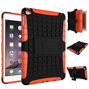 Für Apple iPad Mini 5 7.9 2019 Hybrid Outdoor Tasche Etuis Hülle Cover Orange Case