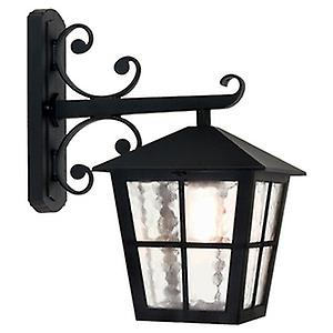 Elstead BL52M BLACK Canterbury Traditional British Style Exterior Wall Down Lantern