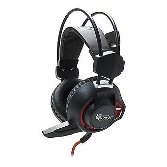White Shark GH-1842 Stereo Gaming Headset com microfone USB-preto (LEOPARD)