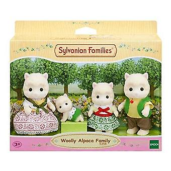 Familles sylvanian alpaga laineux famille jouet