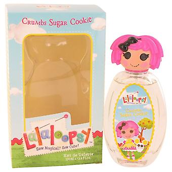 Lalaloopsy by Marmol & Son Eau De Toilette Spray (Crumbs Sugar Cookie) 3.4 oz / 100 ml (Women)
