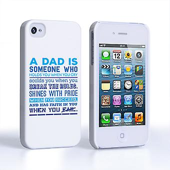 Caseflex Definition of a Dad Quote iPhone 4 and 4S Case