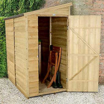 Forest Garden 6 x 3 Overlap Wall Shed