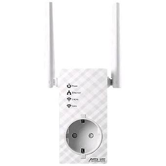 ASUS RP-ac53 draadloze repeater met Dual band ac750 Thru-Jack met externe antennes signaalindicator en media Bridge-modus