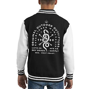 Divide & Conquer Original Outdoor Outfitters Kid's Varsity Jacket