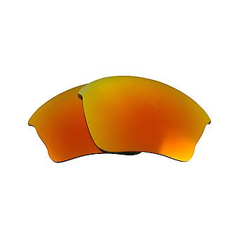 Replacement Lenses Compatible with OAKLEY Half Jacket XLJ Polarized Red Mirror