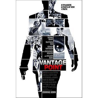 Vantage Point (Double Sided Advance) Original Cinema Poster