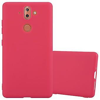 Cadorabo kotelo Nokia 8 Sirocco kotelo Cover-matka Puhelin kotelo on valmistettu joustavasta TPU silikoni-silikoni kotelo suoja kotelo erittäin ohut pehmeä takakannen kotelo puskuri
