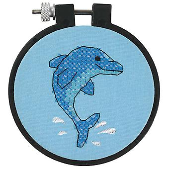 Learn A Craft Dolphin Delight Stamped Cross Stitch Kit 3