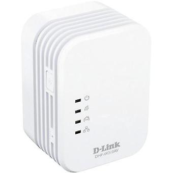 Adaptador Powerline WLAN 500 Mbit/s D-Link DHP-W310AV