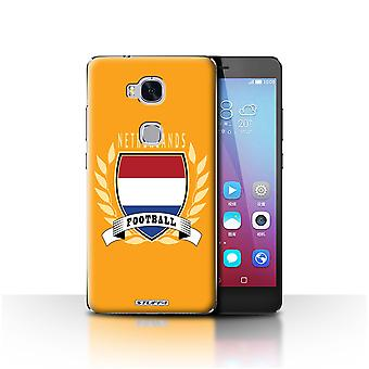 STUFF4 Case/Cover for Huawei Honor 5X/GR5/Netherlands/Dutch/Football Emblem