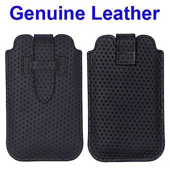 Echtes Leder Handtasche-iPhone 4/4 s