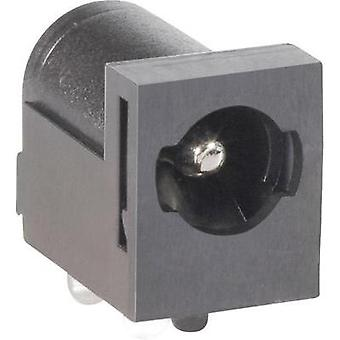 Low power connector Socket, horizontal mount 5.5 mm 2.1 mm BKL Electronic 075821 1 pc(s)