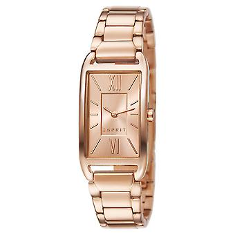 ESPRIT ladies watch bracelet watch Casey stainless steel Rosé ES107112003