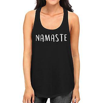 Namaste Tank Top Work Out Tank Top Cute Women's Yoga Racerback