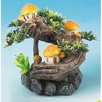 Classic Magic Of The Orient Mushroom Tree 140mm (Pack of 2)