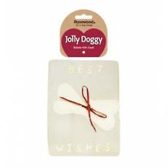 Jolly Doggy Rawhide gave kort 17x13cm