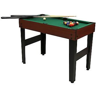 Charles Bentley 4-In-1 Multi Sports Table Including Pool, Football, Push Hockey & Table Tennis