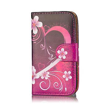 Design book case for Motorola Moto G4 Play - Love Heart