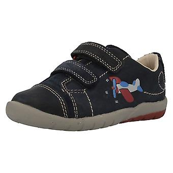 Boys Clarks First Shoes Softly Jet