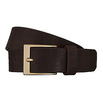 Lee belts men's belts leather belt dark brown 5415